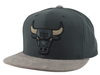 Men's NBA Chicago Bulls Buttery Charcoal/Gray Snapback Mitchell & Ness Hat