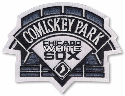 Chicago White Sox Comiskey Park Patch