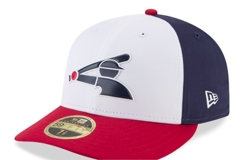 Men's Chicago White Sox New Era White/Navy/Red MLB18 Authentic Collection Prolight Alternate Low Profile 59FIFTY Fitted Hat