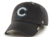 Chicago Cubs Adult Ice Charcoal Clean Up Adjustable Hat By '47 Brand