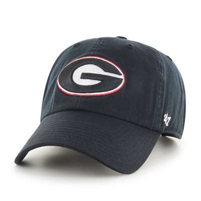 Georgia Bulldogs Black '47 Brand Clean Up Adjustable Hat
