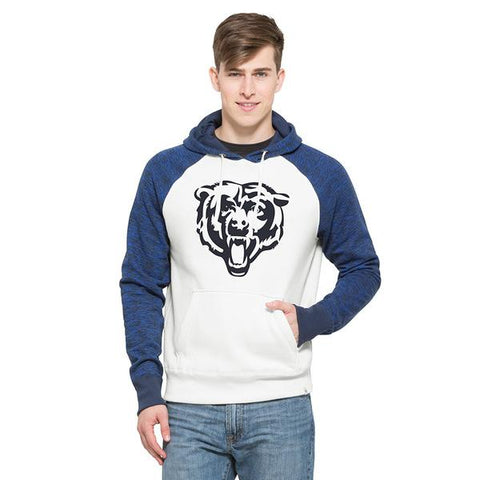 Chicago Bears Adult Sandstone Hashmark Hooded Sweatshirt