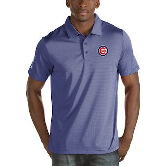 Chicago Cubs Mens Talent Polo By Antigua