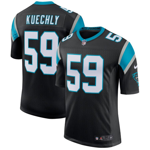 Mens Carolina Panthers Luke Kuechly Nike Black Limited Jersey