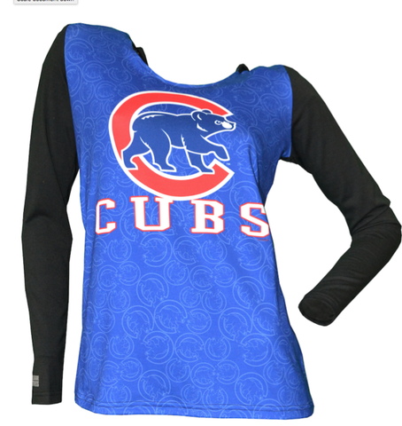 Women's Chicago Cubs Dynamic Hooded Top