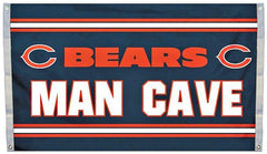 Chicago Bears NFL Football 3 ft x 5 ft Man Cave Flag - Pro Jersey Sports