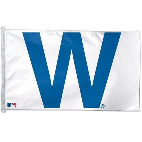 "CHICAGO CUBS ""W"" Flag 3' X 5' - Pro Jersey Sports"
