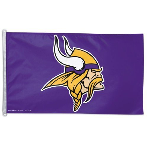 Minnesota Vikings Flag 3 X 5 Pro Jersey Sports