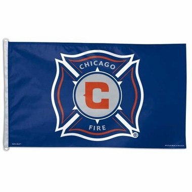 Wincraft Chicago Fire 3x5 Flag - Pro Jersey Sports