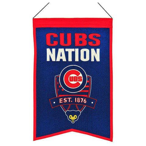 Winning Streak Chicago Cubs Nations Banner - Pro Jersey Sports