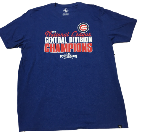 Men's Chicago Cubs 2016 Division Champions '47 CLUB Tee