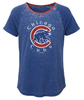 Majestic Youth Girls' Chicago Cubs Dugout Diva Shirt