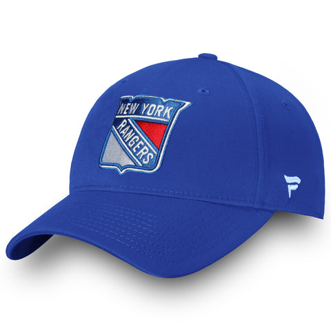 Men's New York Rangers Fanatics Performance Adjustable Basic Hat