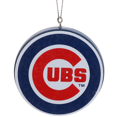 Chicago Cubs Resin Primary Logo Ornament
