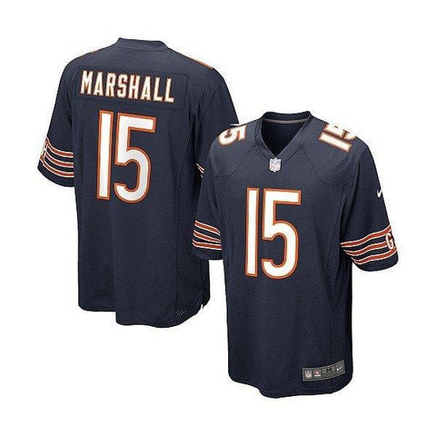 Youth Chicago Bears Brandon Marshall Home Navy Jersey