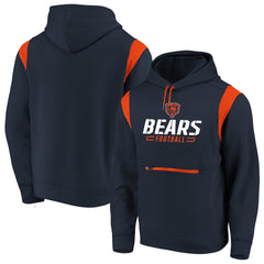 Men's Chicago Bears NFL Fanatics Branded Navy Power Drive Hoodie