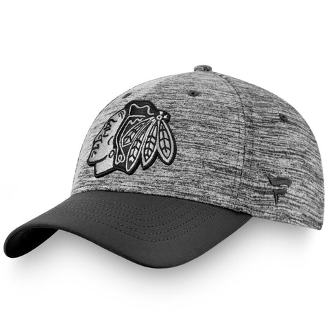 Men's Chicago Blackhawks Fanatics Branded Authentic Pro Clutch Flex Hat