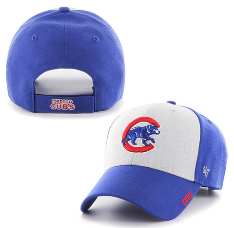 Chicago Cubs Beta MVP Adjustable Cap by '47 Brand