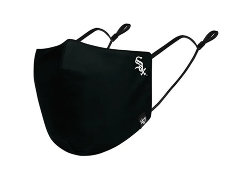 MLB Chicago White Sox Core Black '47 Brand Face Mask