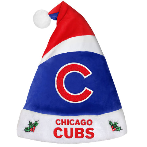 Chicago Cubs Santa Hat By Forever Collectibles