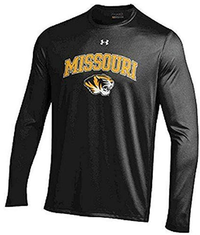 NCAA Missouri Tigers Men's Under Armour Long Sleeve Sleeve Performance NuTech Tee