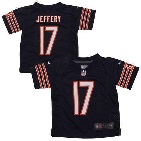 Toddler Chicago Bears Alshon Jeffery Nike Navy Blue Team Color Game Jersey