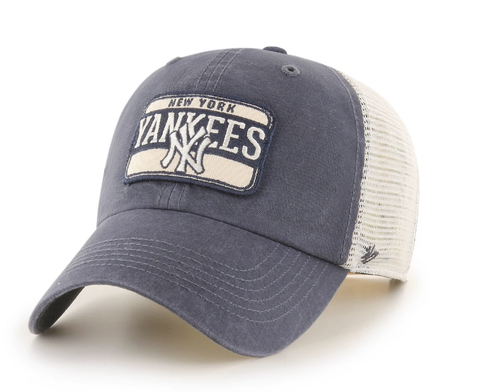 '47 Brand New York Yankees Navy/Natural Fluid Two Tone Clean Up Adjustable Hat