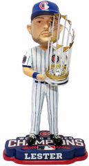 2016 World Series Champions Chicago Cubs John Lester Bobblehead By Forever Collectibles