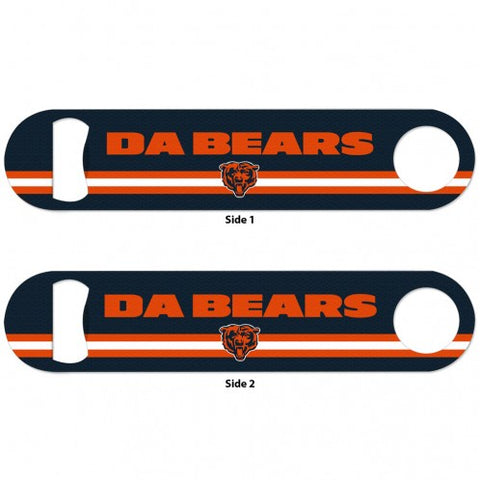 "Chicago Bears 7"" Stainless Steel Bottle Opener"