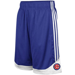 adidas Chicago Cubs Youth Royal Blue Pre-Game Mesh Shorts