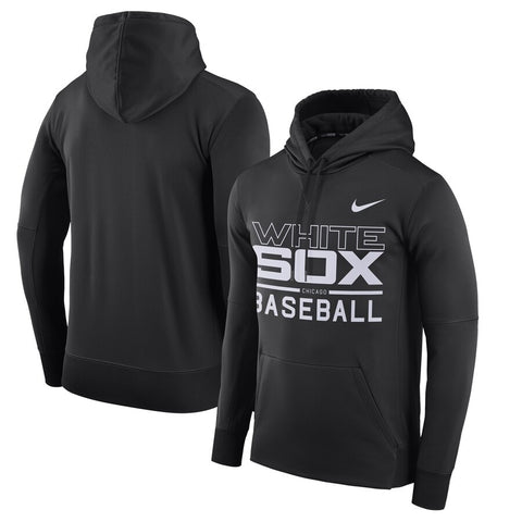Men's Chicago White Sox Nike Black Pullover Hoodie
