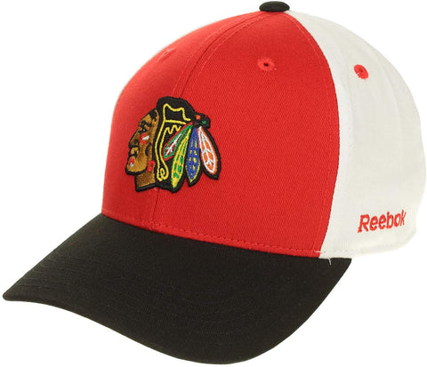 Reebok NHL Infant Chicago Blackhawks Colorblock Cap