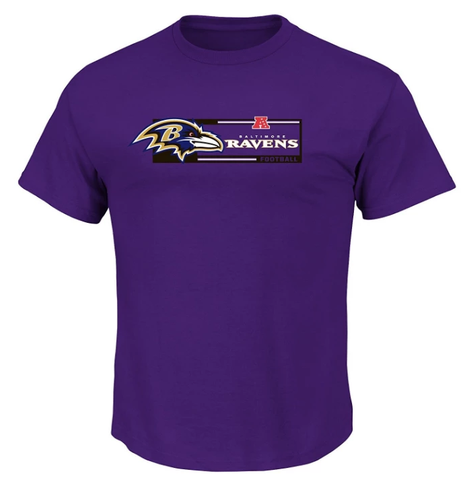 Men's Baltimore Ravens Adult Critical Victory VII T-Shirt