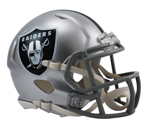 Las Vegas Raiders Speed Mini Helmet