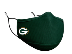 Adult Green Bay Packers New Era Team Color On-Field Face Mask