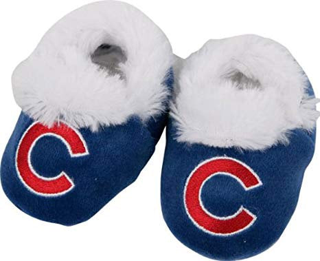 Chicago Cubs MLB Baby Bootie Slipper