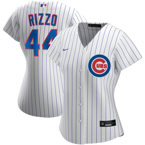 Women's Chicago Cubs Anthony Rizzo Nike White Home Replica Player Jersey