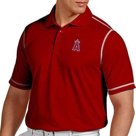 Antigua Men's Los Angeles Angels of Anaheim Icon Performance Polo