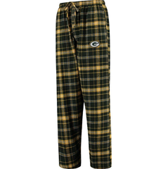 Men's Green Bay Packers Concepts Sport Ultimate Plaid Flannel Pajama Pants