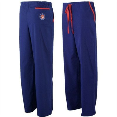Chicago Cubs Unisex Scrub Pants