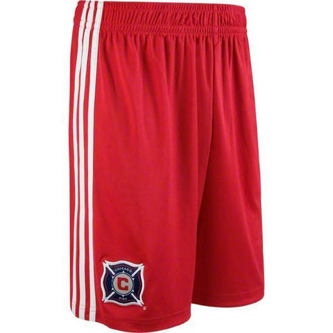 Chicago Fire Youth Red adidas Performance Training Shorts