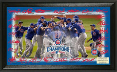 "Chicago Cubs 2016 World Series Champions ""Celebration"" Signature Field - Pro Jersey Sports - 1"