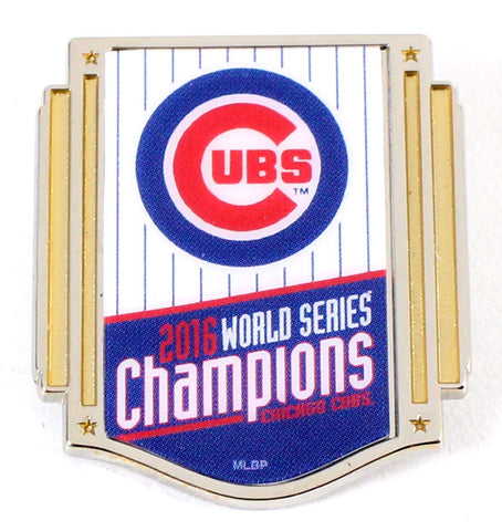 Chicago Cubs World Series Champions Collectors Lapel Pin