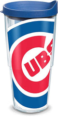 Chicago Cubs Colossal Blue Lid 24 oz. Tumbler by Tervis