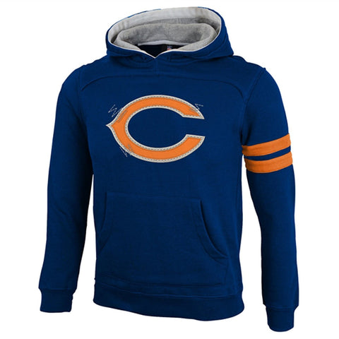 Chicago Bears Youth NFL Vintage Super Soft Hooded Sweatshirt