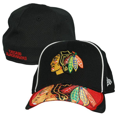 Toddler/Child NHL Chicago Blackhawks Junior Hex Charge Flex Fit 39Thirty Hat