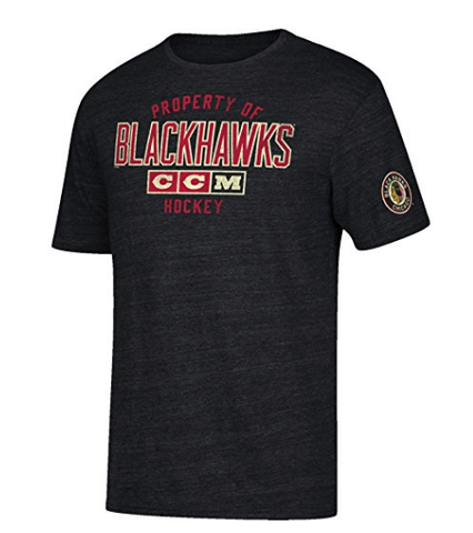 adidas NHL mens Team Property Tri-Blend S/S Tee