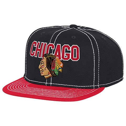 Chicago Blackhawks 2017 Winter Classic Center Ice Snapback Hat By Reebok