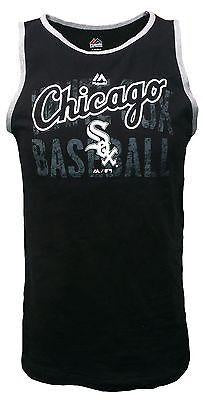 Youth Chicago White Sox Valiant Victory Tank Top-Majestic