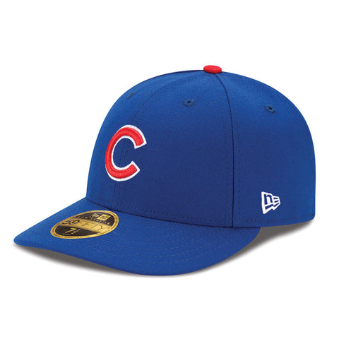 Men's Chicago Cubs New Era Royal Authentic Collection On Field Low Profile Game 59FIFTY Fitted Hat